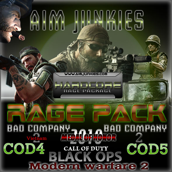Aimjunkies rage pack hack cheats and aimbots